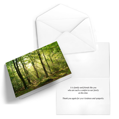 "Small Thank You Cards - Horizontal (5"" x 3.5"")"